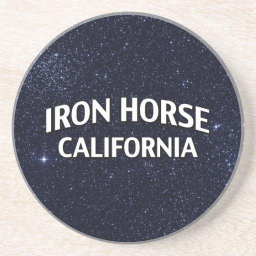 Iron Horse California Drink Coasters