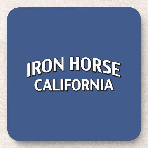 Iron Horse California Beverage Coasters