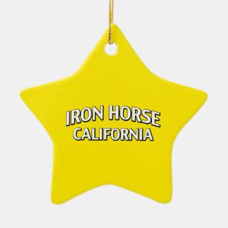 Iron Horse California Christmas Ornaments