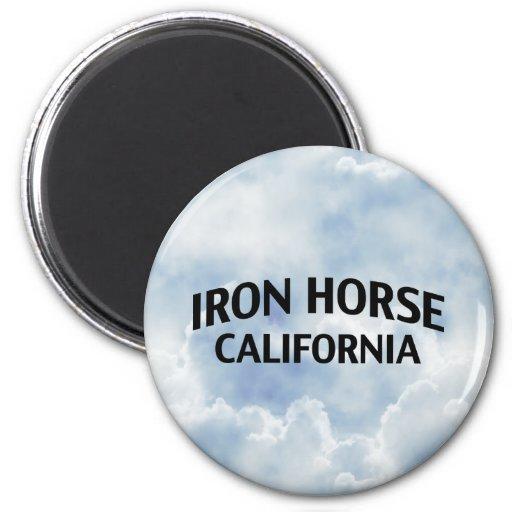 Iron Horse California Magnet