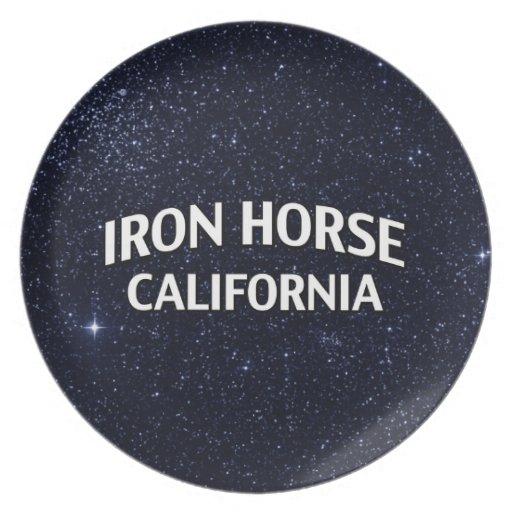 Iron Horse California Plate