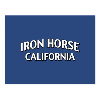 Iron Horse California Postcard