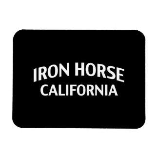 Iron Horse California Rectangle Magnet