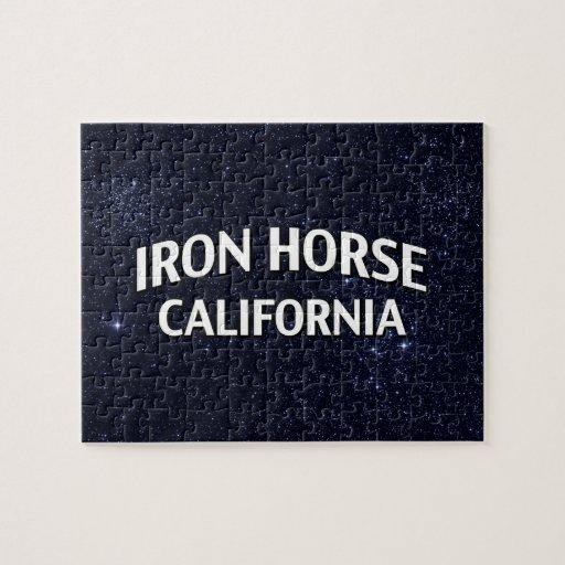 Iron Horse California Jigsaw Puzzle