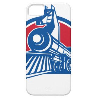 Iron Horse Locomotive Circle Retro Case For The iPhone 5