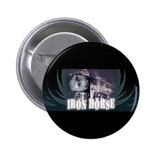 Iron Horse Logo Button