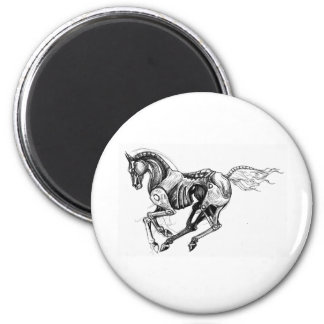 Iron Horse Magnet