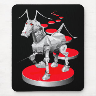 Iron Horse Mouse Pad