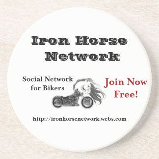 Iron Horse Network Coaster Set