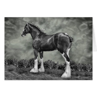 Iron Horse Steele Greeting Card