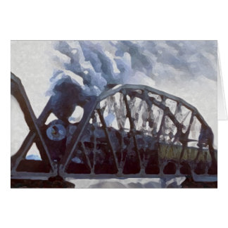 Iron Horses & Iron Bridges Card