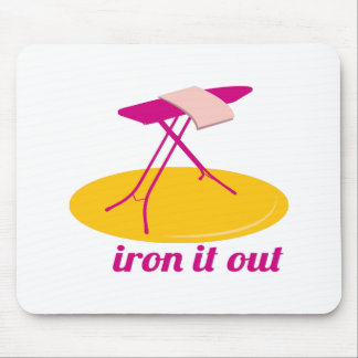Iron It Out Mouse Pad