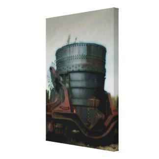 Iron Ladle - Burden Iron Works, Troy, NY Canvas Print