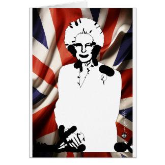 Iron Lady - Margaret Thatcher Wenskaarten