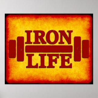 Iron Life Poster