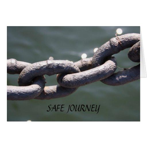 Iron Links SAFE JOURNEY Card