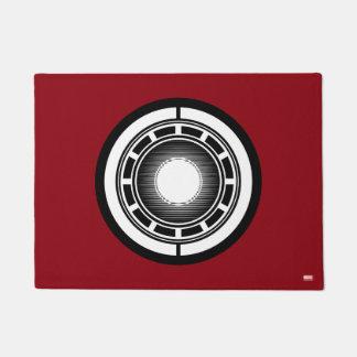 Iron Man Arc Icon Doormat