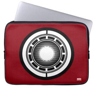 Iron Man Arc Icon Laptop Sleeve