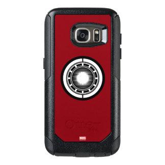 Iron Man Arc Icon OtterBox Samsung Galaxy S7 Case