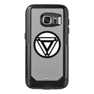 Iron Man Arc Reactor Icon OtterBox Samsung Galaxy S7 Case