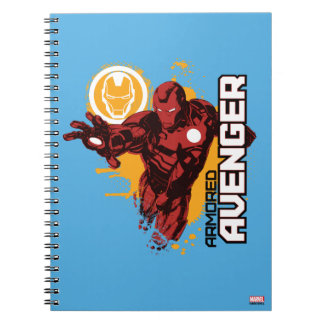 Iron Man Armored Avenger Graphic Note Book