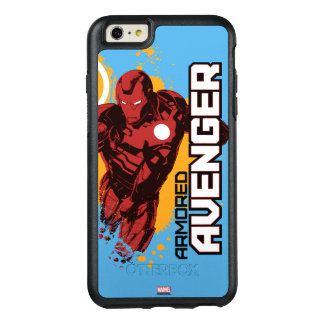 Iron Man Armored Avenger Graphic OtterBox iPhone 6/6s Plus Case