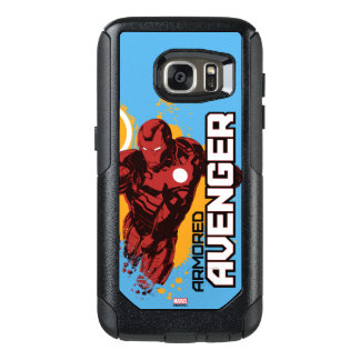 Iron Man Armored Avenger Graphic OtterBox Samsung Galaxy S7 Case