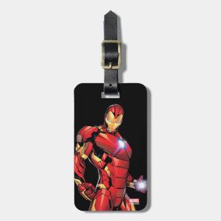 Iron Man Assemble Luggage Tag