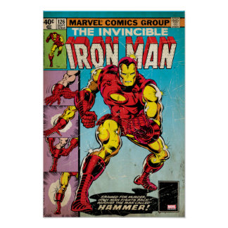 Iron Man Comic #126 Poster