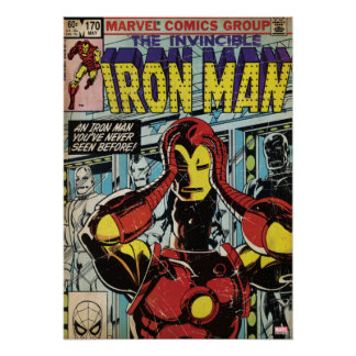 Iron Man Comic #170 Poster