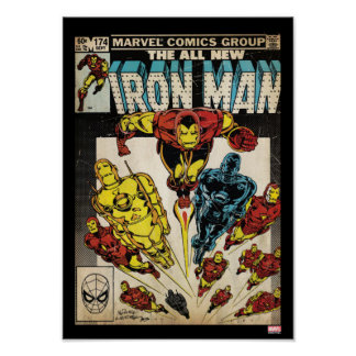 Iron Man Comic #174 Poster