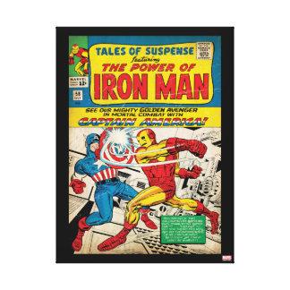 Iron Man Comic #58 Canvas Print