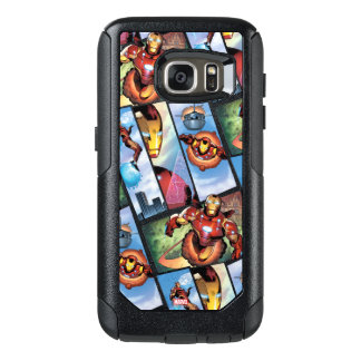 Iron Man Comic Panels OtterBox Samsung Galaxy S7 Case