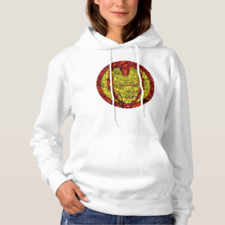 Iron Man Comic Patterned Icon Hoodie