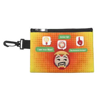 Iron Man Emoji Accessory Bag