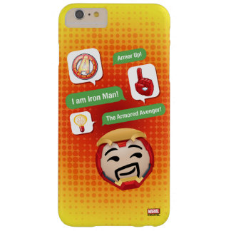Iron Man Emoji Barely There iPhone 6 Plus Case