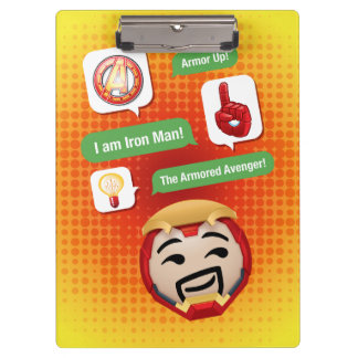 Iron Man Emoji Clipboard