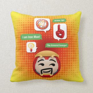Iron Man Emoji Cushion