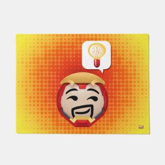 Iron Man Emoji Doormat