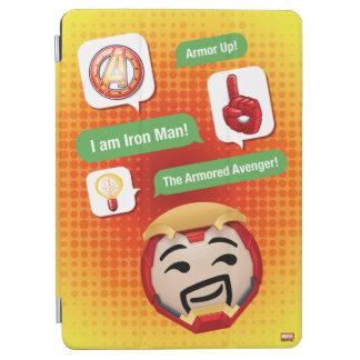 Iron Man Emoji iPad Air Cover