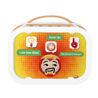 Iron Man Emoji Lunch Box