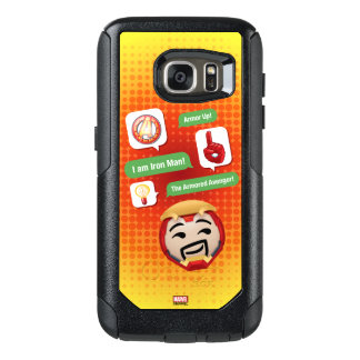 Iron Man Emoji OtterBox Samsung Galaxy S7 Case