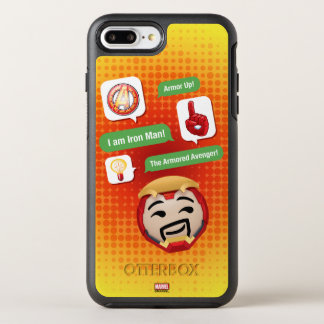 Iron Man Emoji OtterBox Symmetry iPhone 8 Plus/7 Plus Case