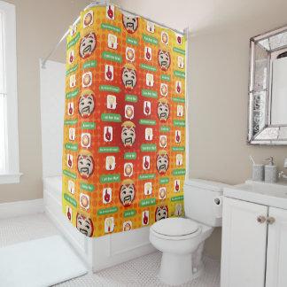 Iron Man Emoji Shower Curtain