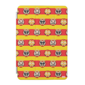 Iron Man Emoji Stripe Pattern iPad Mini Cover
