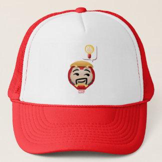 Iron Man Emoji Trucker Hat