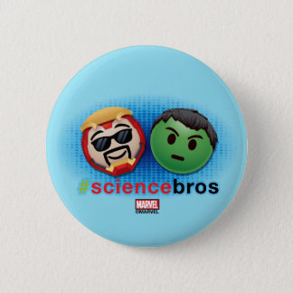 Iron Man & Hulk #sciencebros Emoji 6 Cm Round Badge
