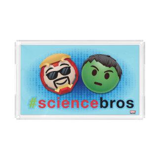 Iron Man & Hulk #sciencebros Emoji Acrylic Tray