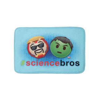 Iron Man & Hulk #sciencebros Emoji Bath Mat