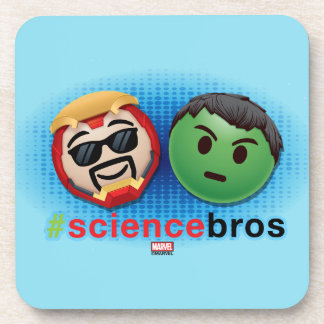 Iron Man & Hulk #sciencebros Emoji Coaster